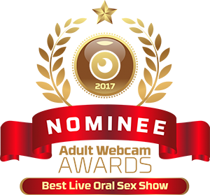 Naughty Natali, adult web cam awards 2017 Nominee for best oral sex in a live cam show