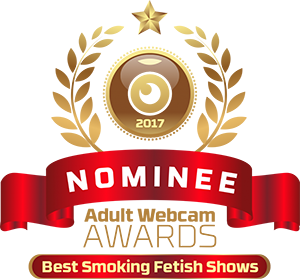Naughty Natali, adult web cam awards 2017 Nominee for best smoking fetish model